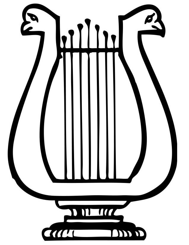 how to make a lyre harp