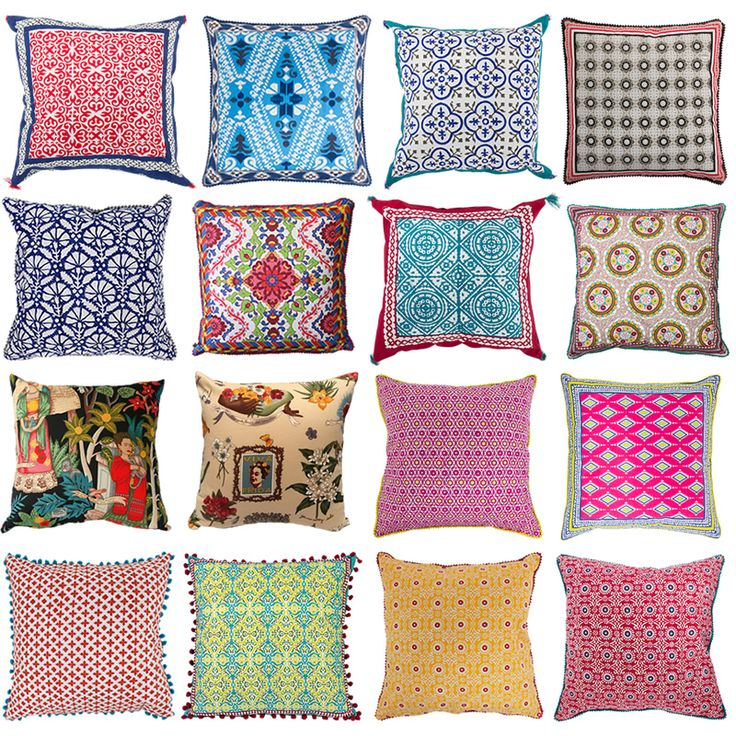 Cushions are incredibly versatile and are the easiest ways to get the satisfaction of re-decorating without the hassle