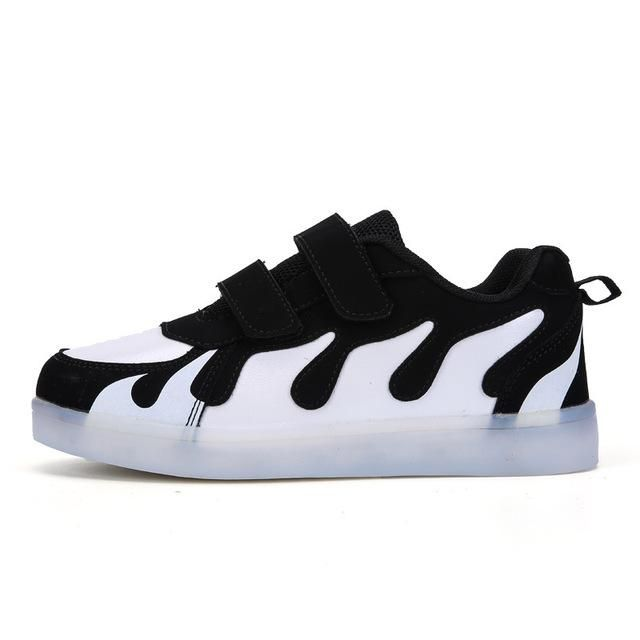 FIREish Casual Glowing Sneakers for Kids
