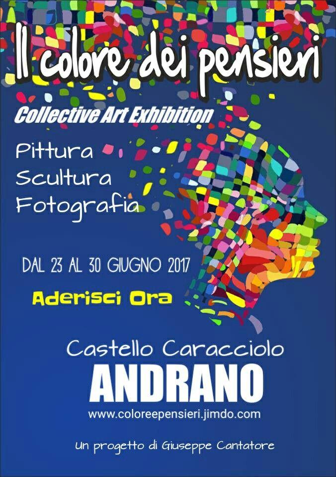 Dai valore alla tua carriera, partecipa alla prossima tappa della mostra itinerante: Il colore dei pensieri. Visita il sito www.coloreepensieri.jimdo.com e chiama o invia un messaggio watsapp  al 3270839675.