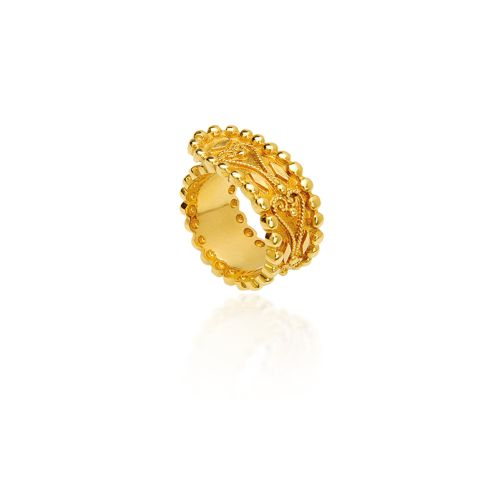 Byzance ring in 18KT yellow gold.