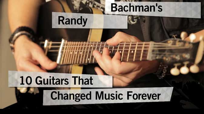 Randy Bachman's 10 Guitars That Changed Music Forever