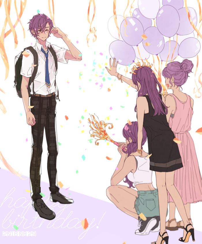 Ensembles stars Adonis and his sisters