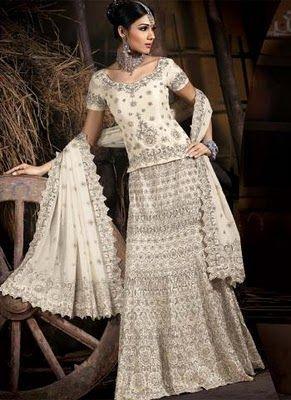 Indian western style wedding dress