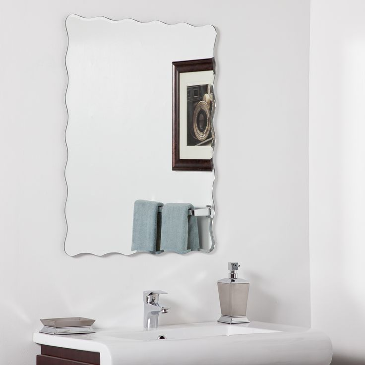 Decor Wonderland Angelina Modern Bathroom Mirror U0026 Reviews | Wayfair