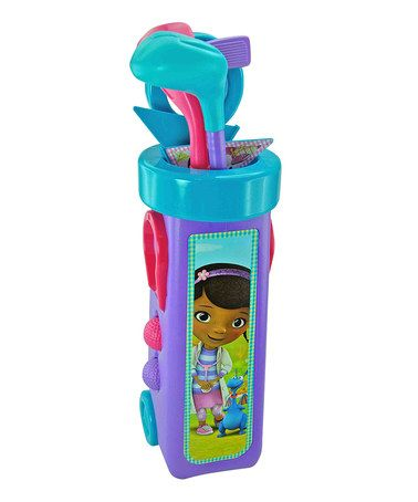 Take a look at this Doc McStuffins Golf Caddy Set by Doc McStuffins on #zulily today!