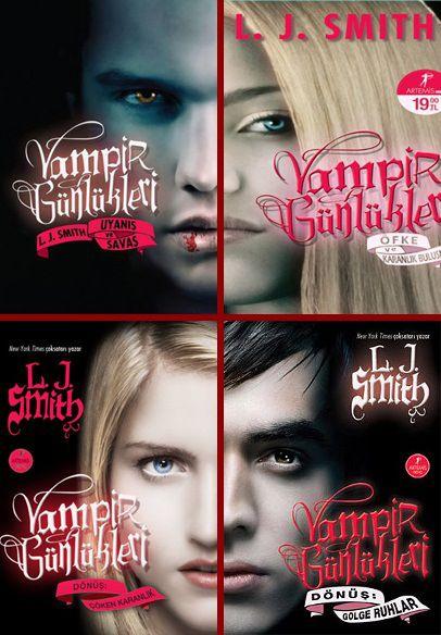 Vampir Günlükleri Serisi – L.J. Smith PDF e kitap indir