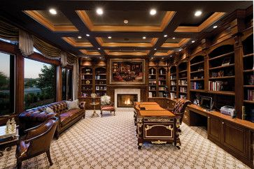04104_Private Residence - Traditional - Home Office - Las Vegas - Pinnacle Architectural Studio