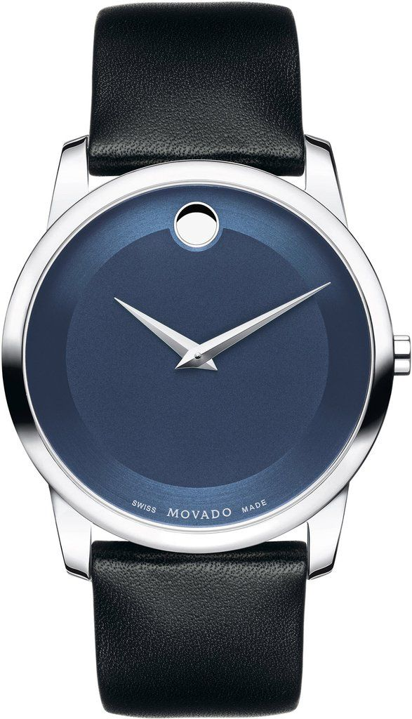Movado Watch Museum Mens #add-content #bezel-fixed #bracelet-strap-leather #brand-movado #case-material-steel #case-width-40mm #delivery-timescale-call-us #dial-colour-blue #discount-code-allow #gender-mens #luxury #movement-quartz-battery #new-product-yes #official-stockist-for-movado-watches #packaging-movado-watch-packaging #style-dress #subcat-museum #supplier-model-no-0606610 #warranty-movado-official-2-year-guarantee #water-resistant-30m