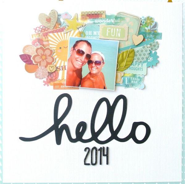 Hello 2014 by Brickle @2peasinabucket