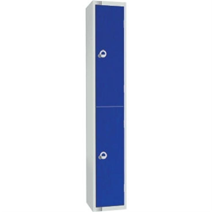 Two Door Locker with Sloping Top