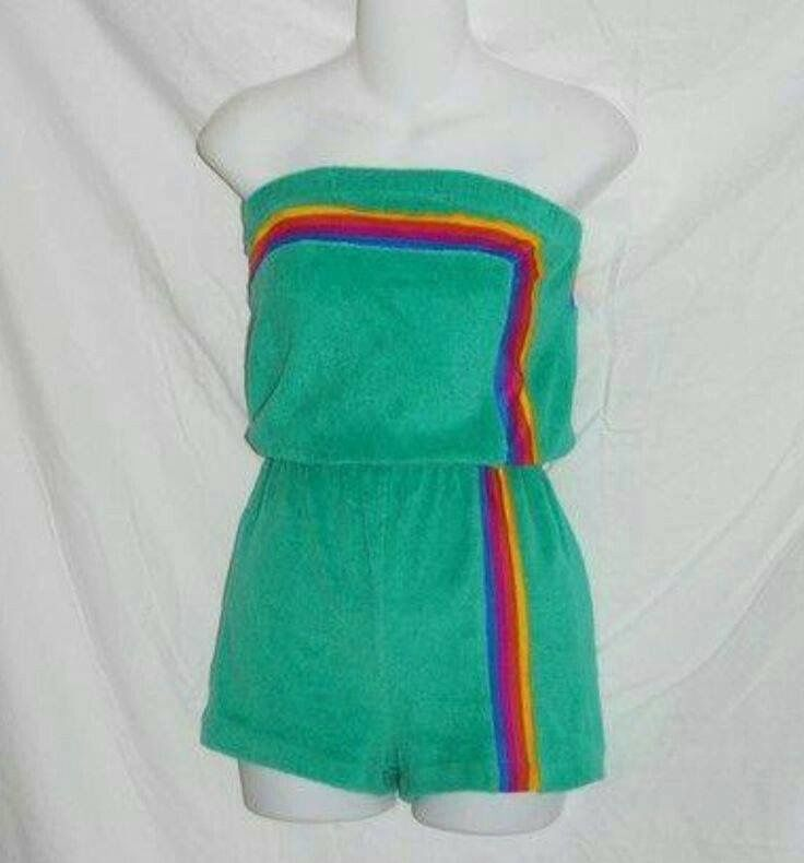Yes the good ole terry romper