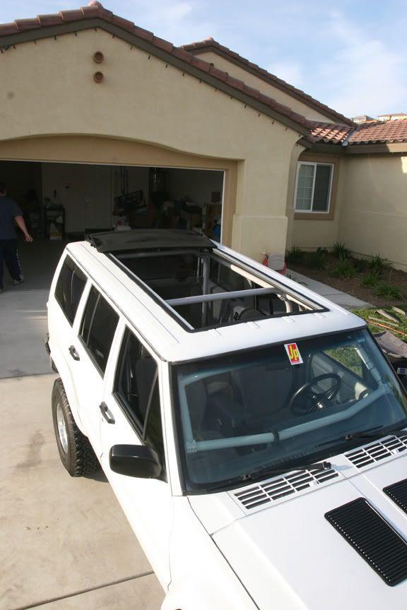 My Jeep has a sunroof!!! - NAXJA Forums -::- North American XJ Association