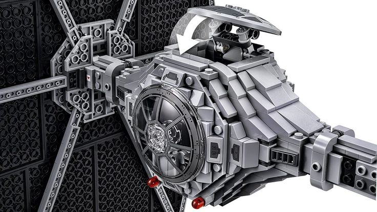 Secret Compartment on the LEGO Star Wars TIE Fighter Building Kit. Awesome gift for any Star Wars fan!