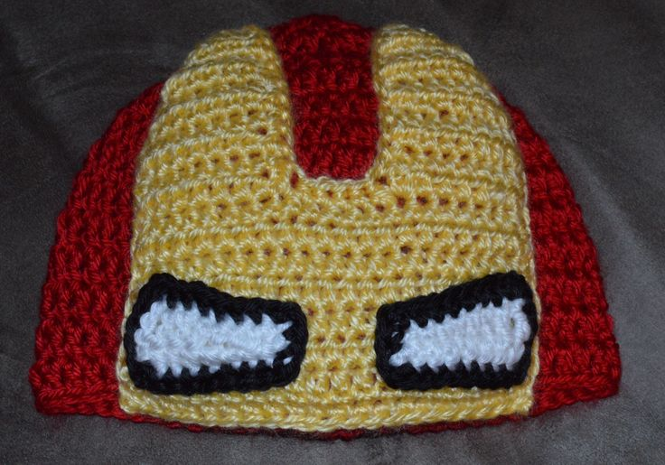 Free Crochet Pattern Iron Man Hat : 40 best images about crochet ironman on Pinterest ...