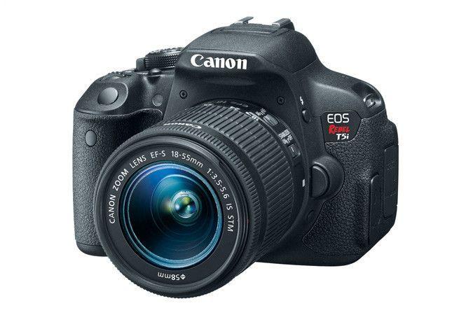 Canon EOS Rebel T5i EF-S 18-55mm IS STM Lens Kit