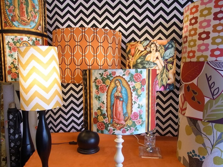NEW lampshades in store now.
