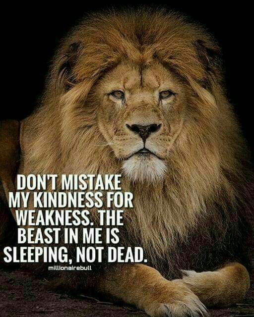 Dont Mistake My Kindness For Weakness Quote Quotes Quotes