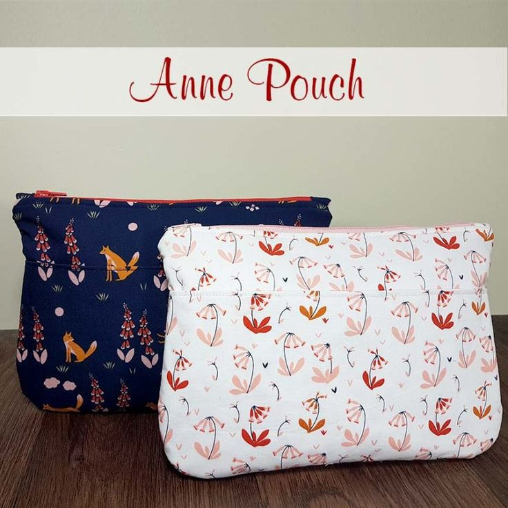 anne pouch FREE sewing pattern