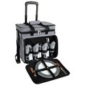 Houndstooth Picnic Cooler w/Wheels for the Bowl