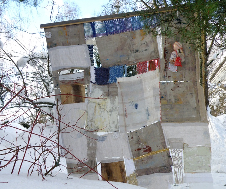 Tuulensuoja - The Shelter of the Wind  - 215 cm x 170 cm - 2011 (backside)