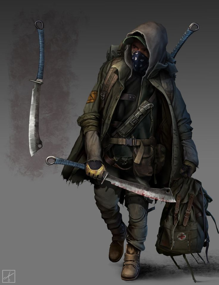 Possible Buzzard Costume. character design_8 by PavellKiD on DeviantArt