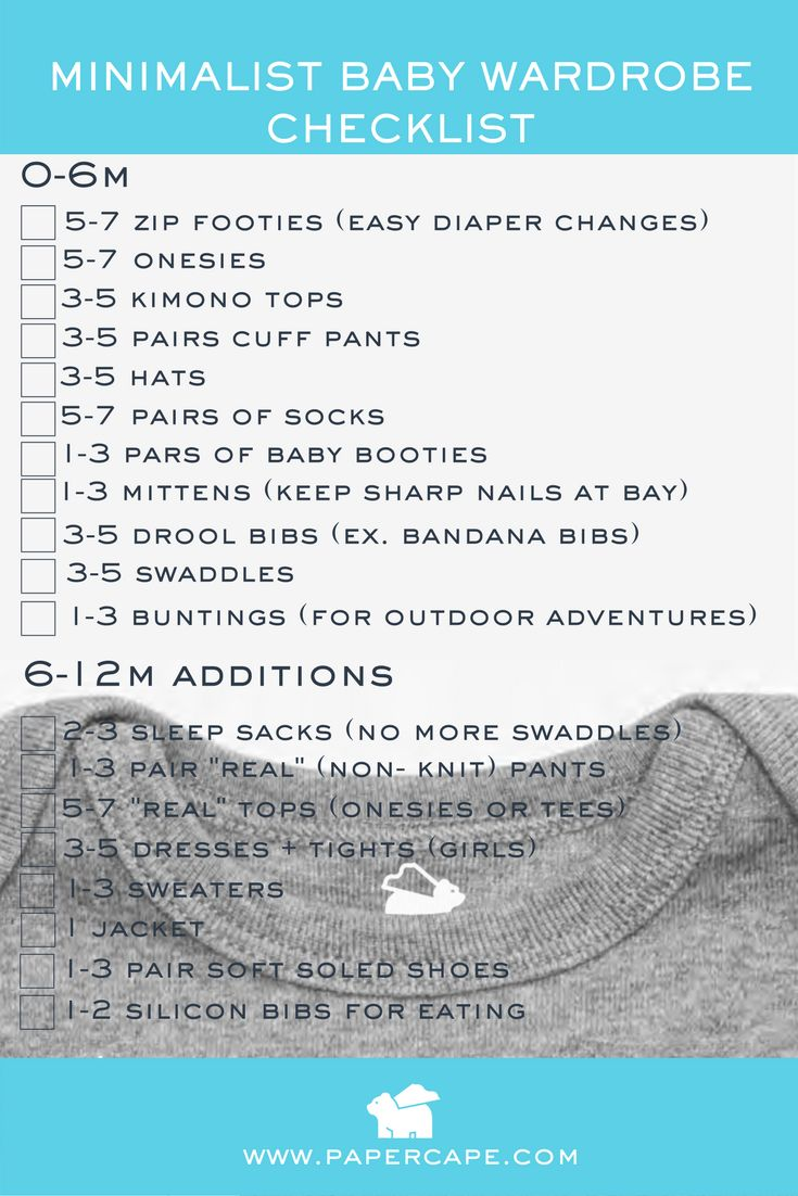 new parent advice // baby instruction manual // parent advice checklist // baby's first year // tips for new parents // minimalist baby wardrobe // baby wardrobe checklist