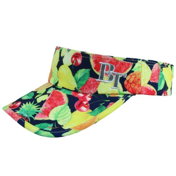 Chic Various Fruit Print Letter Embroidery Beyond 18th Women's Sun Visor #hats, #watches, #belts, #fashion, #style