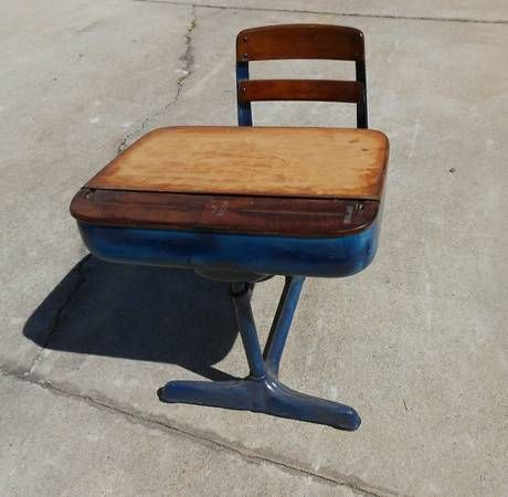 36 best School Desk images on Pinterest Bureau vintage Chairs