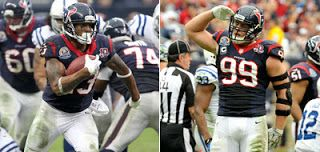 Texans' J.J. Watt and Arian Foster will be featured in GQ magazine