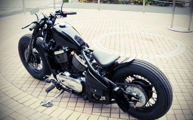 Kawasaki Vulcan bobber