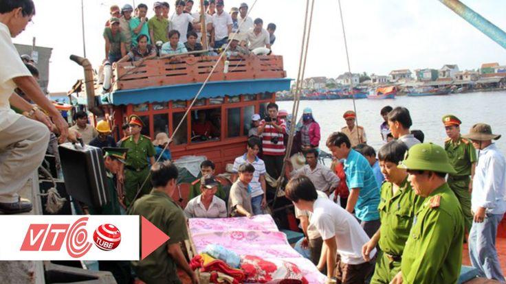 Thi thể ngư dân Quảng Ngãi được đưa về đất liền    VTC