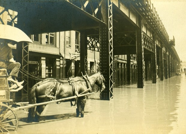 A Look Back • Flood of 1903 swamps East St. Louis, inspires its levee system