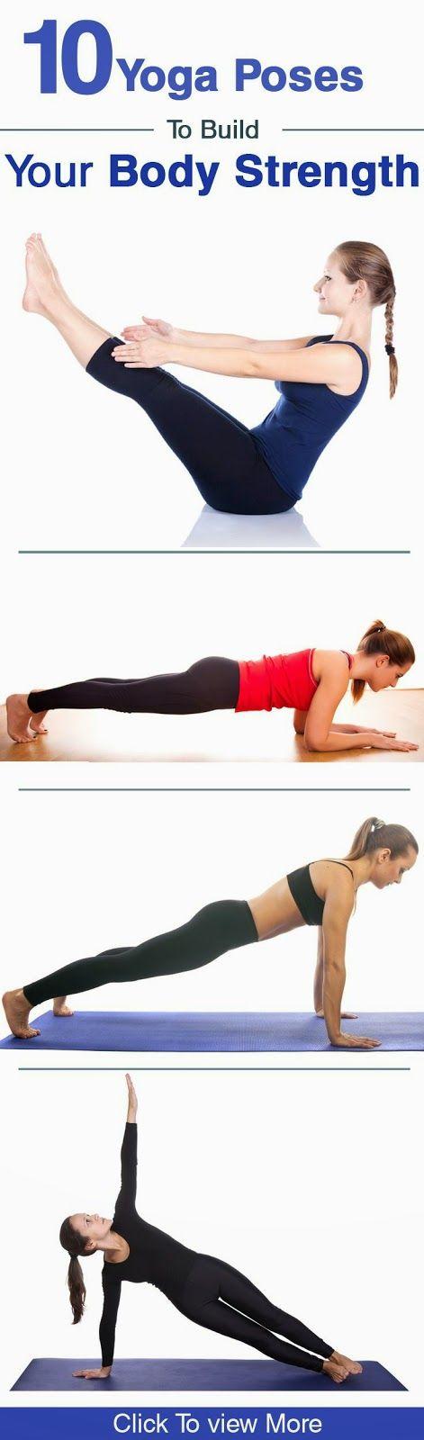 Yoga Poses for Body Strength