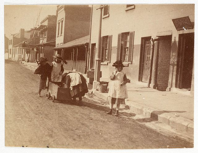 Children in Street from Sydney, ca. 1885-1890 / photographed by Arthur K. Syer   Flickr - Photo Sharing!
