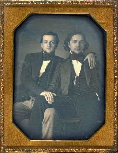 ca. 1850, [Two gentlemen]    via the Metropolitan Museum of Art    <3 <3  <3 <3 <3