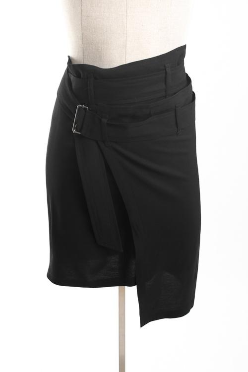 Ann Demeulemeester Double Wrap Skirt - $67