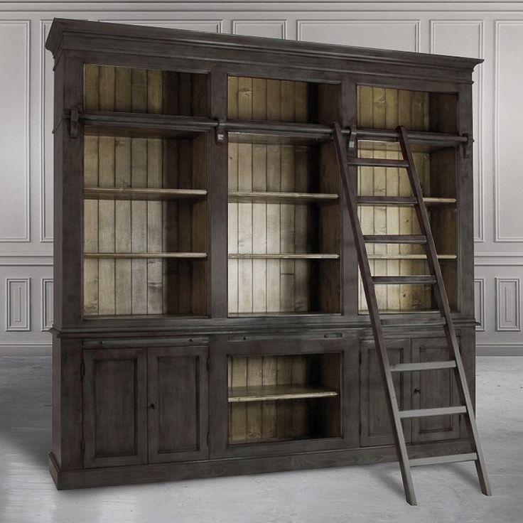 Книжный шкаф Bruno - Книжные шкафы, витрины, библиотеки - Гостиная и кабинет - Мебель по комнатам My Little France