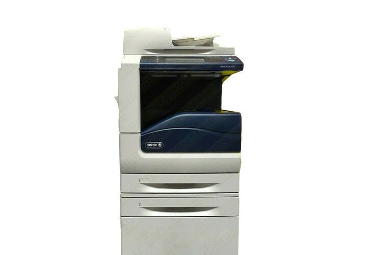 Xerox Workcentre 7535 Color Ledger Tabloid Printer Copier Scanner