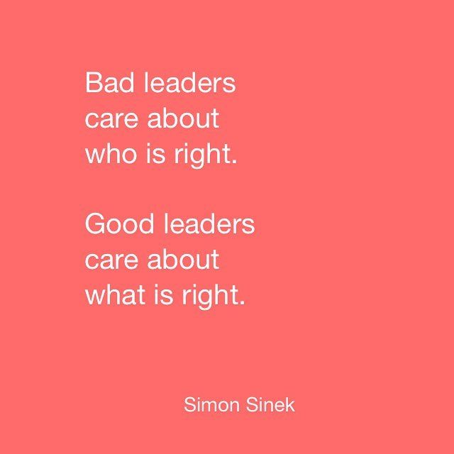 #quote #inspire #lead #leadership #integrity #whatsright #startwithwhy #leaderseatlast #simonsinek by simonsaysinspire