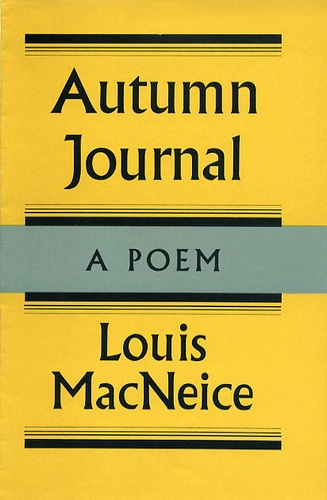 Autumn Journal by Louis MacNeice by Faber Books, via Flickr