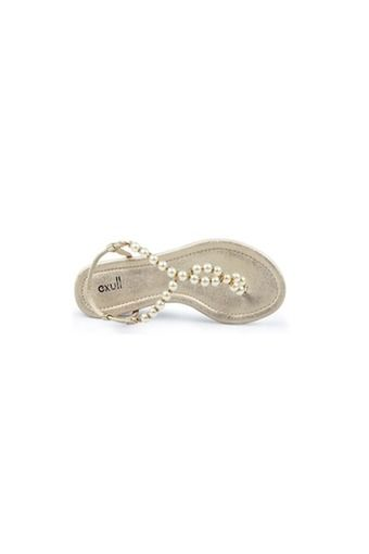 Exull Pearls Flat Sandals Beach Thong Flip Flop Slippers (Light Gold)   | ราคา: ฿1,600.00 | Brand: exull | See info: http://www.topsellershoes.com/product/7096/exull-pearls-flat-sandals-beach-thong-flip-flop-slippers-light-gold