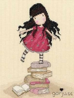 New Heights – Gorjuss Cross Stitch Kit – Bothy Threads | REPINNED