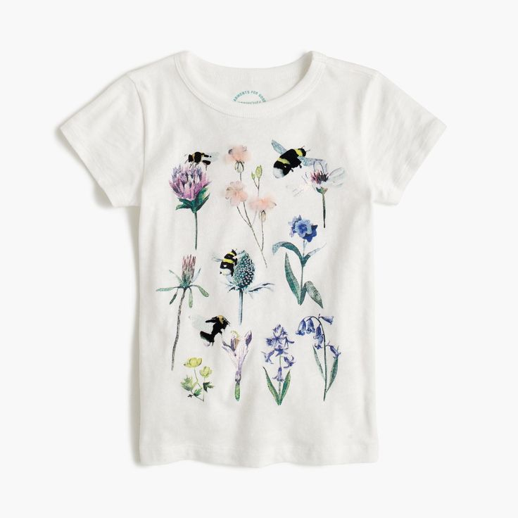 J.Crew - Girls' J.Crew for the Xerces Society save the bees T-shirt