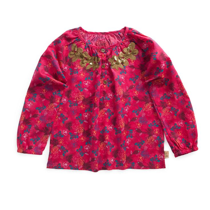 "Blouse all over ""Princesse des steppes"""