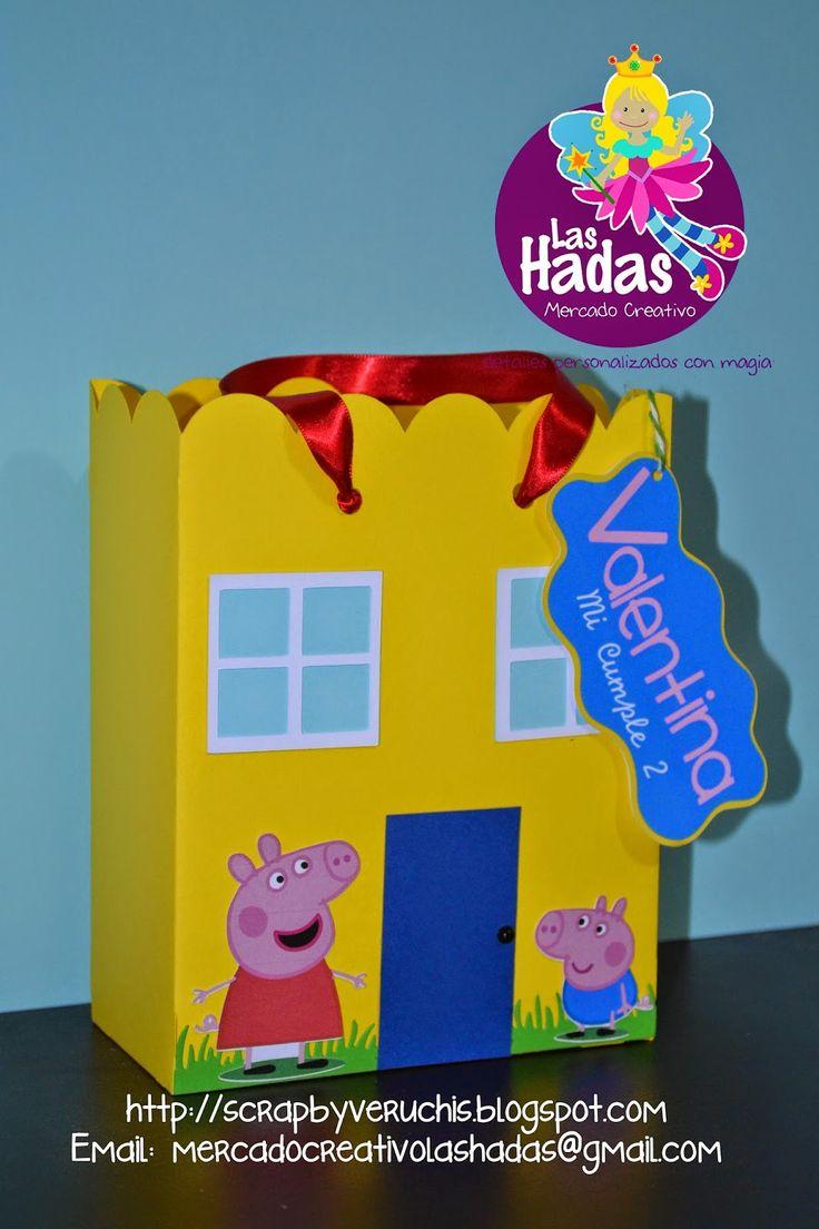 Semana de Peppa Pig, bienvenidos a nuestro blog, ojalá que estas ideas sean de su agrado!     Casitas de Peppa Pig Mesa de Dulces      Mesa ...