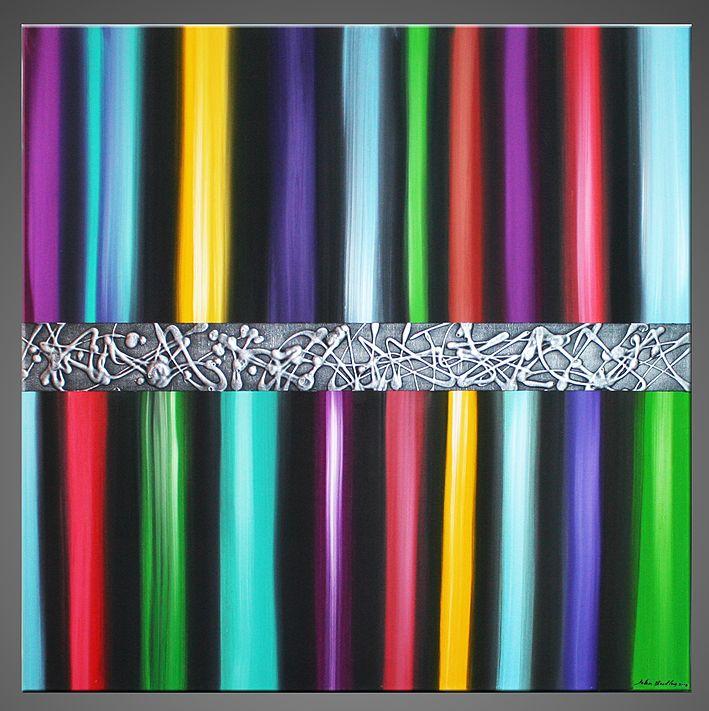 Les 28 meilleures images du tableau inspiration john beckley sur pinterest acryliques art - Peinture abstraite coloree ...