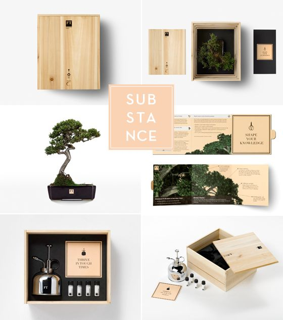 Bonsai love #packaging #branding #marketing PD