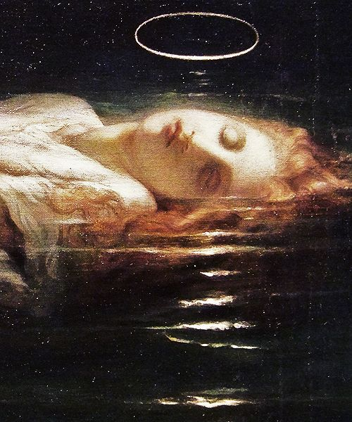 PaulDelaroche- The Young Martyr(1855) - Art Details