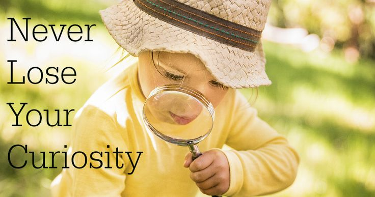Don't lose your curiosity for learning, it can help you grow in many ways...   http://bit.ly/1J7FK5L